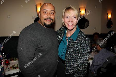 Raymond Santana and Cathie Black