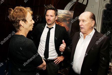 Naomi Foner Gyllenhaal, Scott Cooper and Robert Duvall