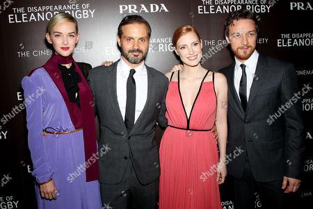 Jess Weixler, Ned Benson (Director), James McAvoy, Jessica Chastain