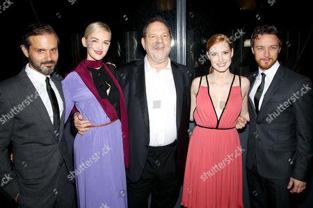 Ned Benson (Director), Jess Weixler, Harvey Weinstein, Jessica Chastain, James McAvoy