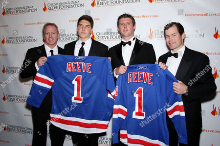 Brian Leetch, Will Reeve, Matthew Reeve, Mike Richter