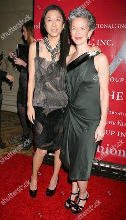 Vera Wang and Catherine Walsh