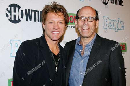 Jon Bon Jovi and Matthew Blank