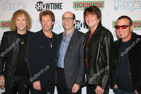 David Bryan , Jon Bon Jovi , Matthew Blank , Richie Sambora and T