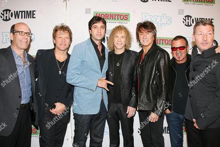 Matthew Blank , Jon Bon Jovi , Chris Peddy , David Bryan ,Richie