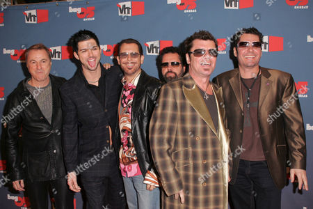 INXS - Garry Beers, J D Fortune, Kirk Pengilly, Andrew Farriss, Jon Farriss and Tim Farriss