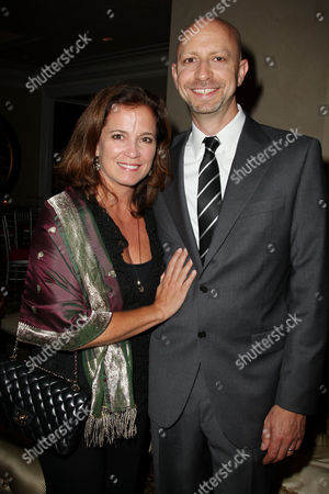 Michael Epstein (Director, Writer, Producer) with wife Maya Hoffman