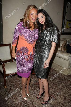 Denise Rich and daughter Daniella Rich Kilstock