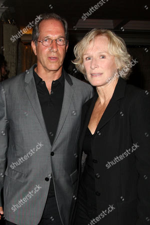 Stock Image of Stanley Buchthal (Executive Producer) and Glenn Close