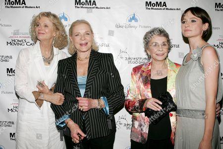Blythe Danner, Lauren Bacall, Jean Simmons and Emily Mortimer