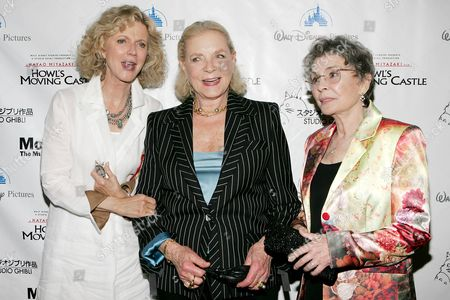 Blythr Danner, Lauren Bacall and Jean Simmons