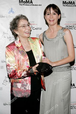 Stock Image of Jean Simmons and Emily Mortimer