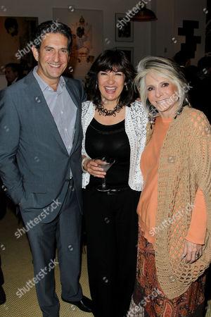 James Rubin, Christiane Amanpour, Sheila Nevins (Pres. HBO Docum