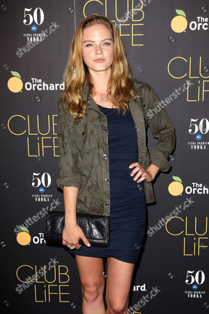 Editorial image of 'Club Life' film premiere, New York, America - 26 May 2015