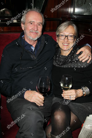 Stock Image of Wes Craven and Iya Labunka