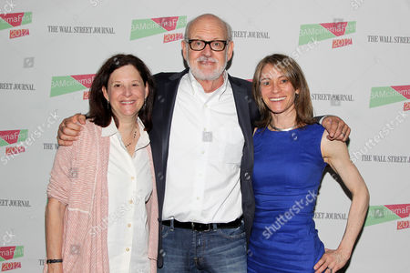 Karen Brooks Hopkins, Frank Oz and guest