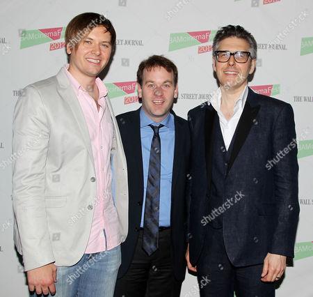 Stock Photo of Jacob Jaffke, Mike Birbiglia and Ira Glass