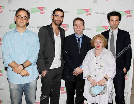 David Wain, Danny Borbon, Mike Birbiglia, Sondra James and Alex Karpovsky