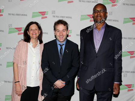 Karen Brooks Hopkins, Mike Birbiglia and Christopher Farley