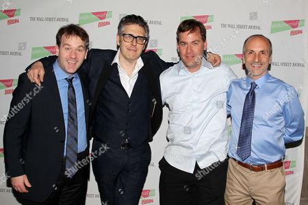 Mike Birbiglia, Ira Glass, Joseph Birbiglia and Seth Barrish