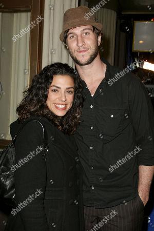Pablo Schreiber and Jessica Schreiber