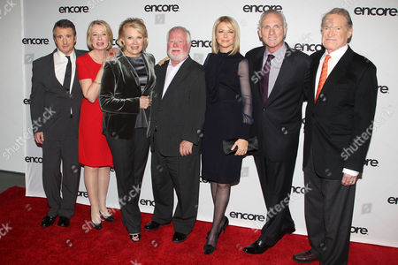 Grant Shaud, Diane English, Candice Bergen, David Baldwin, Faith Ford, Joe Regalbuto and Charles Kimbrough