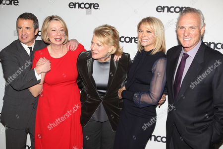 Grant Shaud, Diane English, Candice Bergen, Faith Ford and Charles Kimbrough