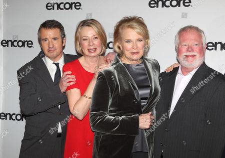 Grant Shaud, Diane English, Candice Bergen and David Baldwin