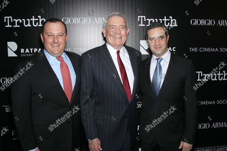 William Sherak, Dan Rather, Brad Fischer