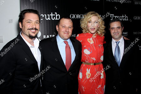 James Vanderbilt (Director), William Sherak, Cate Blanchett, Brad Fischer