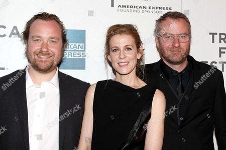 Stock Photo of Tom Berninger, Dawn Barger and Matt Berninger