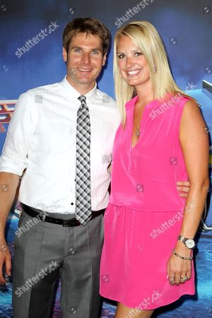 Stock Picture of Will Power and Elizabeth Power