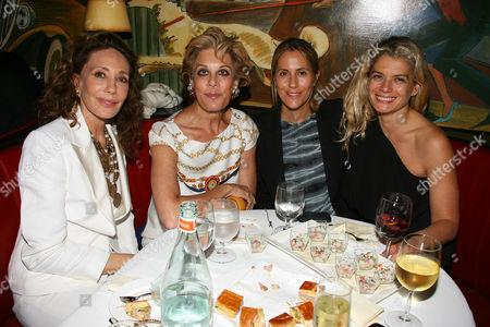 Marisa Berenson, Peggy Siegal, Cristina Greeven Cuomo and Angela Ismai