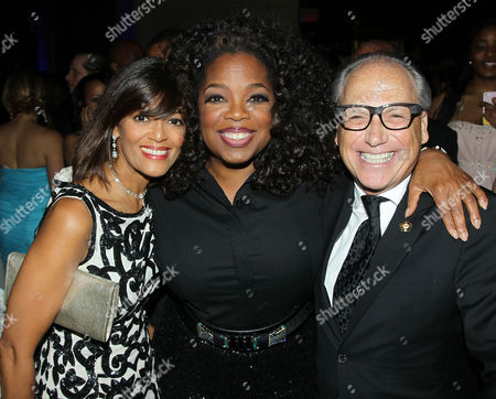 Stock Image of Prudence Inzerillo, Oprah Winfrey and Jerry Inzerillo