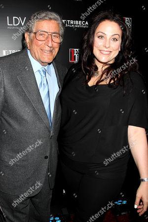 Tony Bennett and Joanna Bennett