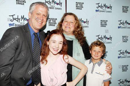 David Schwartz, Jordana Beatty, Megan McDonald and Parris Mostel