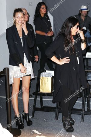 Whitney Port and Kelly Cutrone