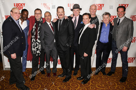 Editorial picture of 'Lucky Guy' play opening night after party, New York, America - 01 Apr 2013