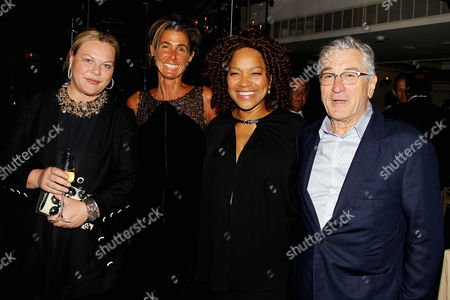 Katharina Otto-Bernstein, Summer Farkas, Grace Hightower, Robert De Niro