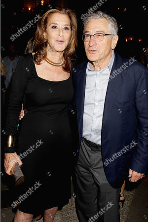 Paula Weinstein and Robert De Niro