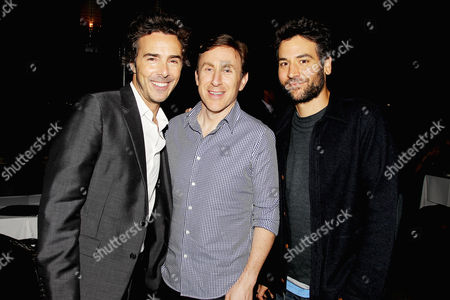 Shawn Levy, Jonathan Tropper and Josh Radnor