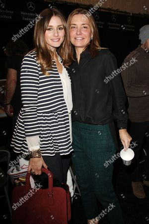 Olivia Palermo and Amy Smilovic (Tibi designer)