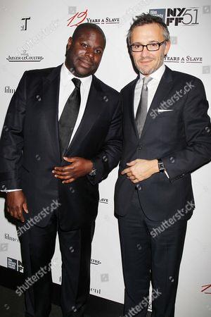 Stock Photo of Steve McQueen and Laurent Viney