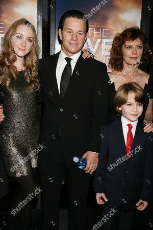 Saoirse Ronan, Mark Wahlberg, Susan Sarandon and Christian Ashdale