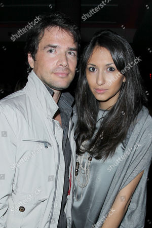 Stock Photo of Matthew Settle and Layla V