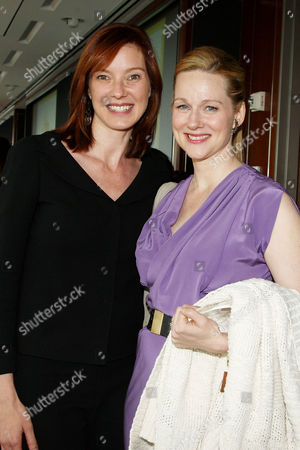 Stock Image of Ellen Marmur and Laura Linney