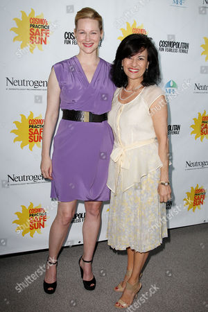 Laura Linney and Donna Kalajian Lagani (Publisher, Cosmopolitan