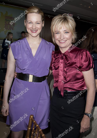 Laura Linney and Kate White (Editor-in-Chief, Cosmopolitan Magaz