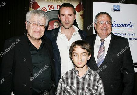 Jerry Zaks (Director), Alessandro Nivola, Tendal Jaret Mann and Jonathan Mitchell (Producer)
