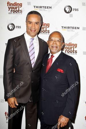 Maurice Dubois and Henry Louis Gates Jr.